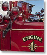 1952 L Model Mack Pumper Fire Truck 2 Metal Print