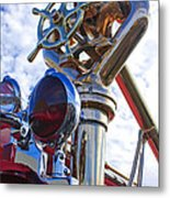 1952 L Model Mack Pumper Fire Truck 3 Metal Print