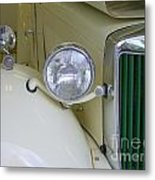 1952 Mg Roadster Headlamp Metal Print