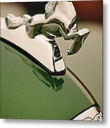 1952 Sterling Gladwin Maverick Sportster Hood Ornament Metal Print