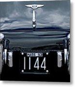 1953 Bentley Rear View License Plate Metal Print
