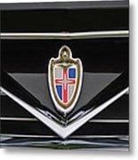 1953 Lincoln Capri Derham Coupe Emblem Metal Print