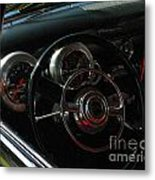 1953 Mercury Monterey Dash Metal Print