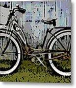 1953 Schwinn Bicycle Metal Print