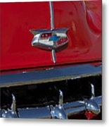 1954 Chevrolet Convertible Hood Emblem Metal Print