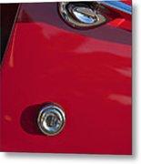1955 Chevrolet 210 Door Handle Metal Print