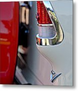 1955 Chevrolet Belair Taillight Emblem Metal Print