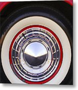 1955 Chevrolet Nomad Wheel Metal Print