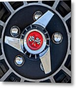 1955 Chevrolet Truck Wheel Rim Metal Print