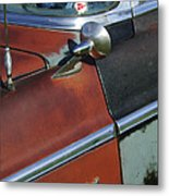 1955 Chrysler Windsor Deluxe Emblem Metal Print