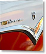 1955 Ford Fairlane Crown Victoria Emblem Metal Print