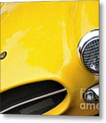 1956 Buckle Gt Coupe - Badge Grill Headlight Metal Print