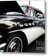 1956 Buick Century Profile 2 Metal Print