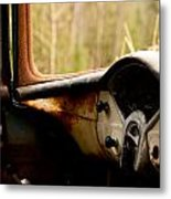 1956 Chevy Inside Metal Print