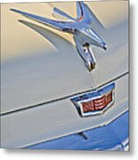 1956 Chrysler Windsor Town And Country  Hood Ornament Metal Print