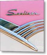 1956 Ford Fairlane Sunliner Metal Print