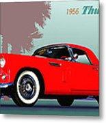 1956 Thunderbird Metal Print