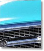 1957 Chevrolet Bel Air Classic Car Panoramic Fine Art Photo  Metal Print