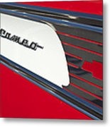 1957 Chevrolet Cameo Pickup Emblem Metal Print