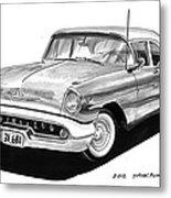 Oldsmobile Super 88 Metal Print