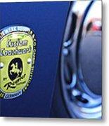 1957 Porsche Emblem Metal Print