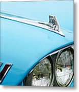 1958 Chevrolet Impala Fender Spear Metal Print