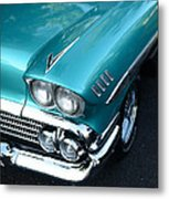 1958 Chevy Belair Front End 01 Metal Print