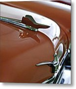 1958 Chrysler Imperial Hood Ornament Metal Print