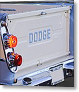 1958 Dodge Sweptside Pickup Taillight Metal Print