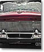 1958 Lincoln Continental Metal Print