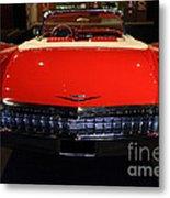 1959 Cadillac Convertible - 7d17377 Metal Print by Wingsdomain Art and Photography