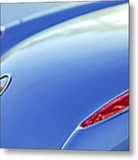 1959 Chevrolet Corvette Taillight Emblem Metal Print