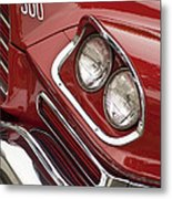 1959 Chrysler 300 Headlight Metal Print