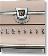 1959 Chrysler New Yorker Emblem Metal Print