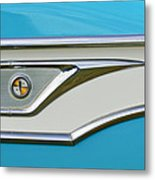 1959 Edsel Corvair Side Emblem Metal Print