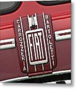 1959 Fiat Tipo 682 Rn-2 Transporter Emblem Metal Print