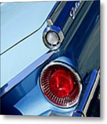 1959 Ford Skyliner Convertible Taillight Metal Print