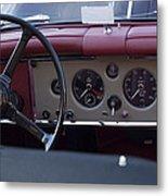 1959 Jaguar S Roadster Steering Wheel Metal Print