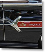 1960 Chevy Impala Metal Print by Mike McGlothlen