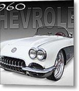 1960 Corvette Metal Print by Mike McGlothlen