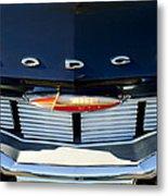 1960 Dodge Grille Emblem Metal Print