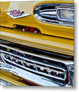 1961 Chevrolet Front End Metal Print