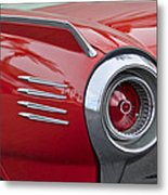 1961 Ford Thunderbird Taillight Metal Print