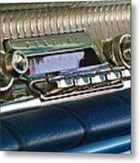 1961 Pontiac Catalina Radio Metal Print