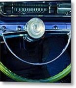 1961 Pontiac Catalina Steering Wheel  Metal Print