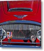 1962 Austin-healey 3000 Mkii Grille Metal Print