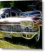1962 Caddy Cadillac Metal Print