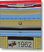1962 Chevy Impala Ss Metal Print