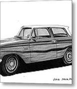 1962 Rambler American Metal Print