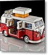 1962 Vw Lego Bus Metal Print